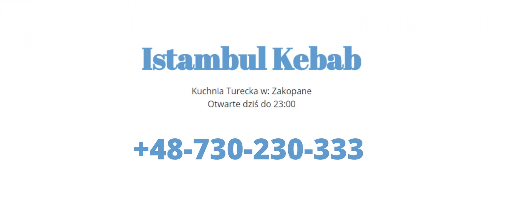 Istambul Kebab Zakopane